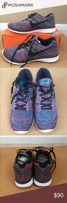 separation shoes 0134a bc3fa Nike flyknit lunar 3 new with box size 9 Box is some what damage there Size