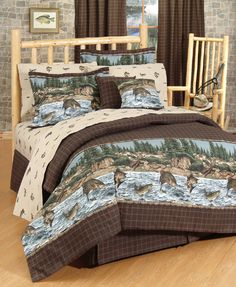 Shop Today at Crystal Creek Decor for a Wide Selection of Rustic Bedding, Lodge Bedding, Cabin Bedding, Sports Bedding, Wild Life Bedding and many more. We carry all the brand names including River Fishing Bedding. Full Comforter Sets, Queen Comforter Sets, Bedding Sets, Camo Bedding, Rustic Comforter, Bedding Decor, Bed Furniture, Rustic Furniture, Furniture Online