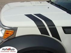 2007-2012 Dodge Nitro Vinyl Graphics, Decal and Stripes Kits. Professional Style 3M Vinyl Graphics Kit - Pre-Cut and Designed, Ready to Install!  For Automotive Restylers and Dealers!