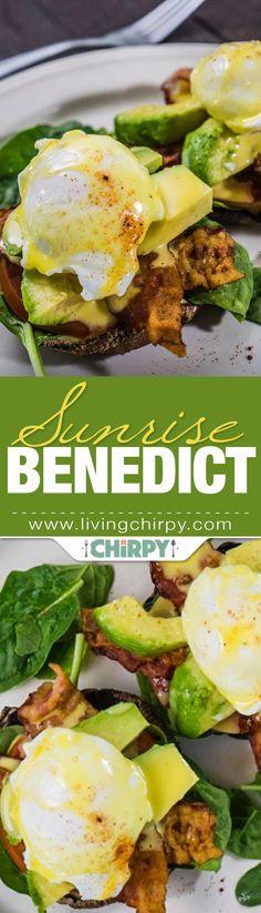 Low Carb Sunrise Benedict