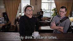 Trending GIF hipster i only drink artisinal lattes