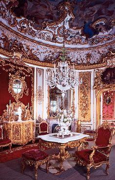 Dining Room, Linderhof Castle, Germany