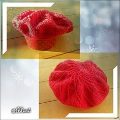 📌Fashion beret hat for girls | Crochet | Red color 💝 Fashion beret hat for woman, is money British style hats, cute and charming. For a variety of face. This is wool hat, with a comfortable, warm, fashion winter hat. 💞