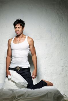 ENRIQUE IGLESIAS   Singer  This handsome Latino singer is the son of Madrid-based Filipina journalist and model Isabel Preysler and international singing superstar Julio Iglesias. Enrique enjoys worldwide popularity with his music. For his musical achievements, Enrique has earned a Grammy for Best Latin Performance in 2007 and several American Music Awards for Favorite Latin Artist.
