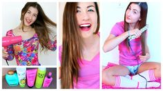 Get Ready With Me | Everyday Hair Routine! ❤ 2014 (+playlist)