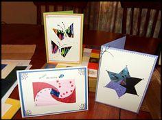 iris folding based diy cards