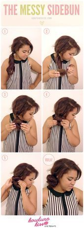 The Messy Bun - #messy - #new Messy Bun, Messy Hairstyles, Put On, Elegant, Hair Color, Hair Styles, Fashion, Hairband Hairstyle, Diy Hairstyles