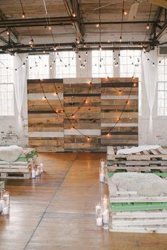 industrial wedding decor ideas
