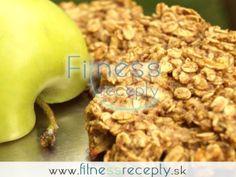 Zdravé fitness recepty: Ovseno-jablkové cookies