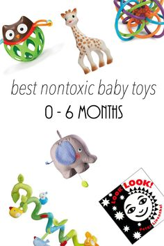 best nontoxic baby toys for ages 0-6 months || Not My Circus Blog