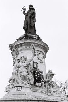 Place de la République mai 2015, Paris