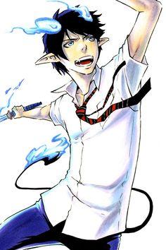 Awesome anime blue exorcist