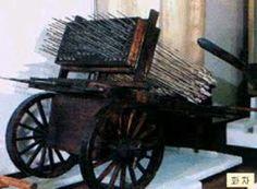 Korean hwacha> rocket launcher (Illustration courtesy of http://archive.worldhistoria.com)