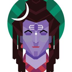 Shiva In Trance by Being Indian