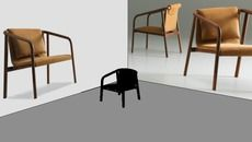 3D Model of Oslo Lounge Chair