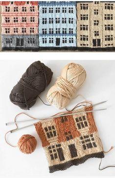Fair Isle Knitting, Free Knitting, Baby Knitting, Animal Knitting Patterns, Knit Patterns, Knitted Afghans, Knitted Blankets, Crochet Coat, Crochet Yarn