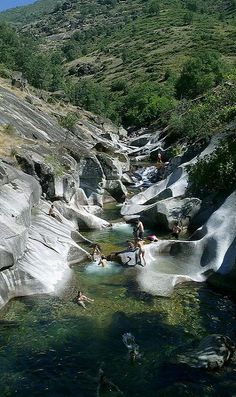 Summer time at Garganta de los Infiernos, Extremadura, Spain (by agomezig)