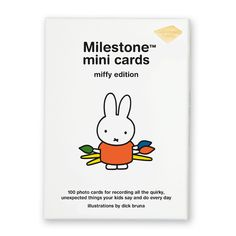 Milestone™ Mini Cards - miffy edition http://www.milestonecards.com/en/products