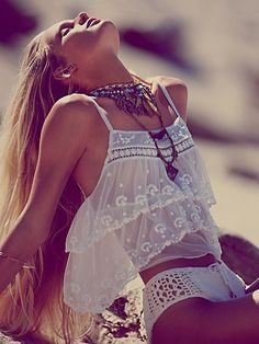 Lovely white, sheer, boho cami ,   for more beautiful fashion visit http://astore.amazon.com/beautifulfa0c-20