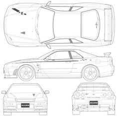 nissan gtr nismo coloring pages | Cadillac GT-R Coloring Page - Cadillac car coloring pages ...