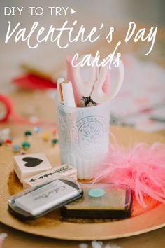 DIY To Try: Valentine's Day Cards