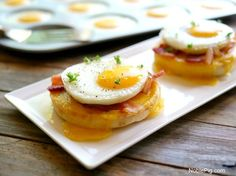 Perfect Brunch Eggs - made in a whoopie pan