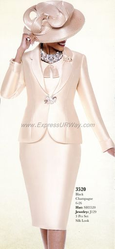 Skirt Suits for Church by Susanna - Fall 2014 - www.ExpressURWay.com