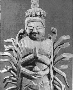 Enku (1632 - 1695)  Скульптура Энку | Резьба по дереву ...  rezbaderevo.ru