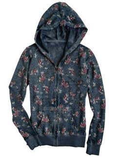 floral burnout hoodie. Wish this was still in stock. I love it.