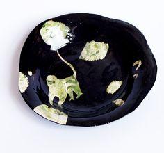 // charlotte mei  monkey plate