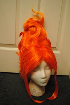 Flame Princess Adventure Time Inspired Cosplay Wig by Vendieh, $175.00