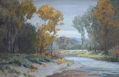 "McKenzie River Autumn by Emily  Schultz Oil ~ 20"" x 30"""