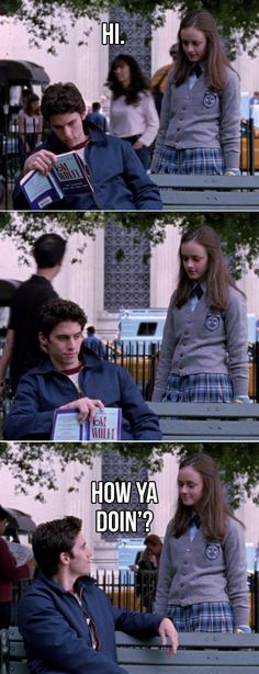 """When Rory surprised Jess in New York: 