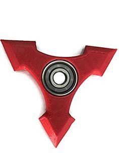 De Sharp Ninja Fidget Spinner EDC Huesos de cojinete
