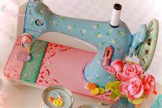 maquina de costura decoração - Pesquisa Google