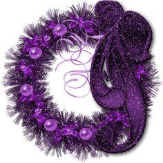 purple-wreath-lovely-ribbon