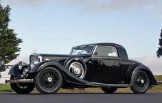 1935 Bentley 3½ Litre Kellner Fixed Head Coupe