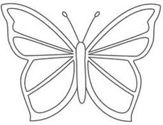 Perspective Large Butterfly Template Image Detail For Craft Wood Scroll Saw Pattern Crafts Butterfly Outline, Butterfly Stencil, Wood Butterfly, Simple Butterfly, Butterfly Quilt, Butterfly Template, Butterfly Shape, Butterfly Crafts, Butterfly Pattern