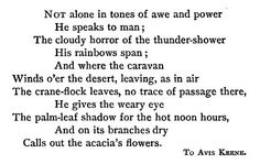 """This passage from """"To Avis Keene"""" by John Greenleaf Whittier is referenced in the song """"Scarlet Town."""""""