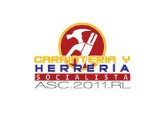 Cliente: Carpinteria Hererria Socialista Asc. 2011. RL / Logotipo (Marca) / Propiedad Idea Digital / 2013 / #design #art #creative #logo #logoytpe #business #branding #ideadigital #agency #diseño #marketing #Publicidad #agenciapublicitaria