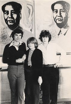 Talking Heads at the Factory. Duncan Hannah, spring '76.