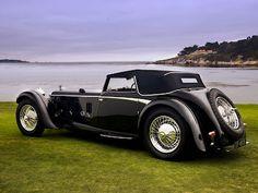 1931 Daimler Double-Six 50 Corsica Drophead Coupe.