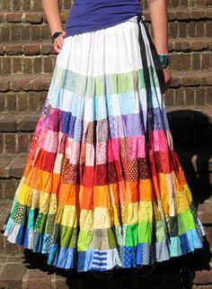 Endless Rainbow Skirt
