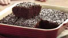 Kids can't have enough of this mouth-watering chocolate cake, so stock it up with this easy one-pan recipe.