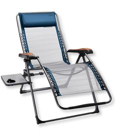 $159. An extra-large version of our ultracomfortable recliner. It's well-built chair and will stand up to years of camping, tailgating or deck sitting at home.