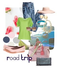 """Road TRIP"" by jessica-meyers-1 on Polyvore featuring J.Crew, Ralph Lauren Black Label, Bric's, STELLA McCARTNEY, Andrew Hamilton Crawford, Vaubel, H&M and Keen Footwear"