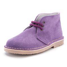 Zapato morado de Pisamonas.