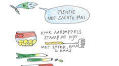 Het weekendrecept van Yvette van Boven: Fish pie met gestoofde prei