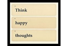 Think Happy Thoughts on OneKingsLane.com