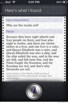 That's totally why fire trucks are red